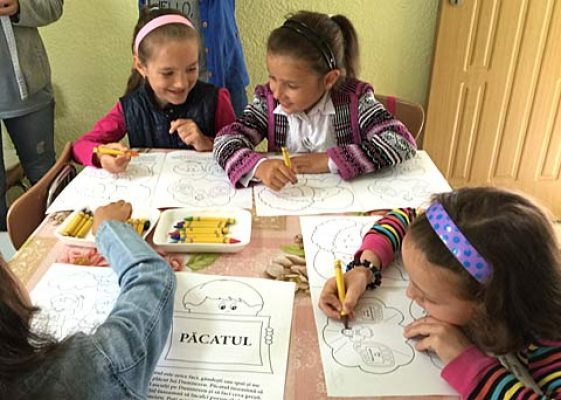 Spanish Christian coloring books for kids