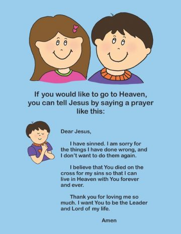New Believer's Christian Book for kids